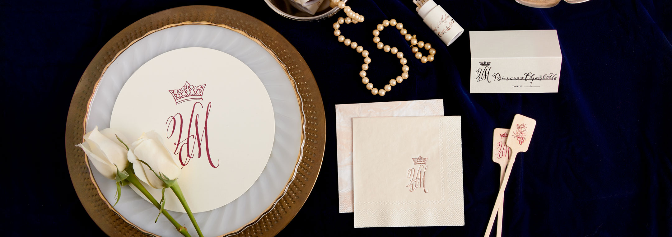 Royal wedding reception themed party napkins matches cups and prince harry and meghan markle royal wedding themed party junglespirit Gallery
