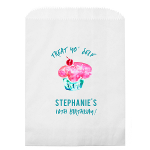 Cupcake Treat Photo/Full Color Party Bag