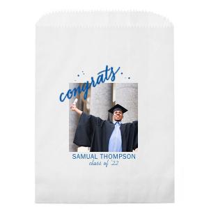 Congrats Grad Photo/Full Color Party Bag