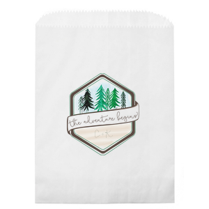 Adventure Badge Photo/Full Color Party Bag