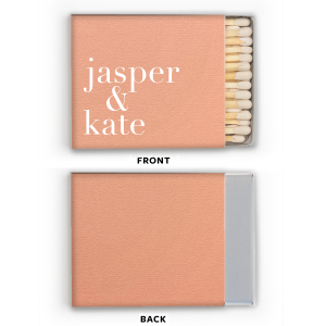 Martha Stewart Peach Matches