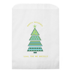 Geo Tree Photo/Full Color Party Bag