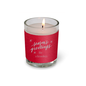 Season Greetings Votive Candle