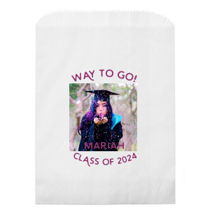Way To Go Photo/Full Color Party Bag