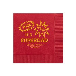 Superdad Napkin
