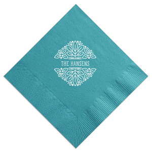 Garden Greeting Napkin