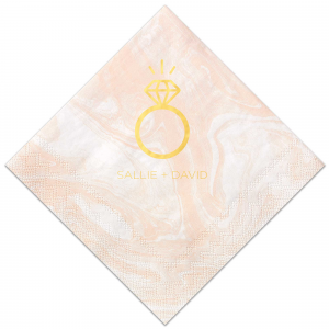 Diamond Ring Napkin