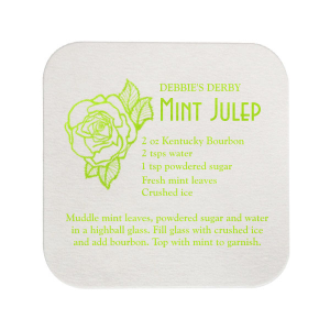 Mint Julep Coaster