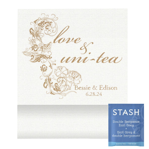 Love and Unity Tea Favor