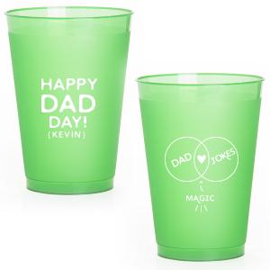Dad Jokes Frost Flex Cup