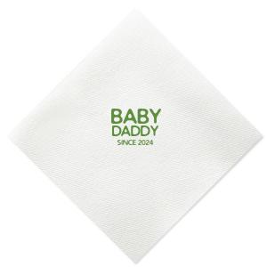 Baby Daddy Napkin