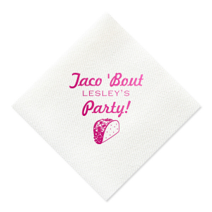 Another Taco Party Napkin
