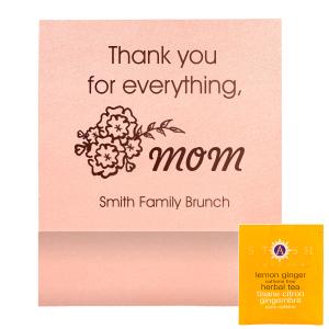 Thank You Mom Tea Favor
