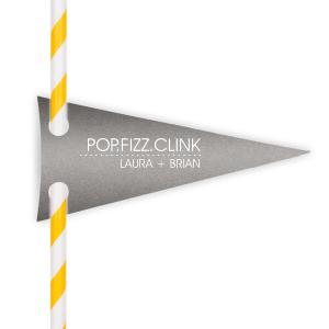 Pop Fizz Clink Straw Tag
