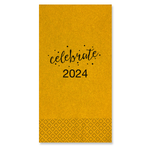 Celebrate Diamond Cocktail Napkin