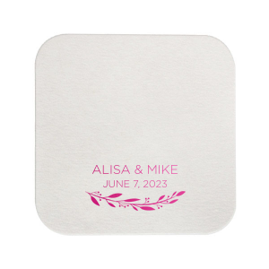 Name Flourish Coaster