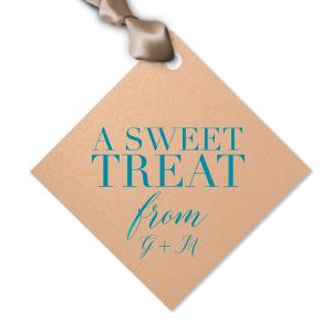 Elegant Sweet Treat Gift Tag