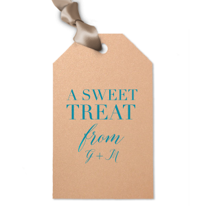Elegant Sweet Treat Gift Tag