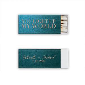 You Light Up My World Match
