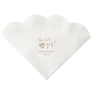Diamond Yes Napkin