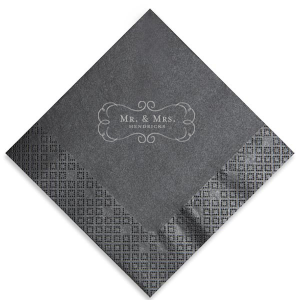 Ornate Frame Napkin