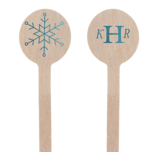 Snowflake Stir Stick