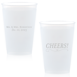 Cheers Heart Flourish Cup