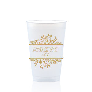 Drinks Are On Us Frost Flex Cup