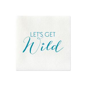 Let's Get Wild Napkin