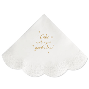 Cake a Good Idea Napkin