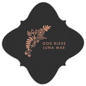 God Bless Baby Coaster