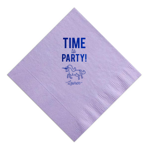 Party Unicorn Napkin