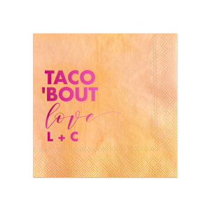 Taco Love Napkin