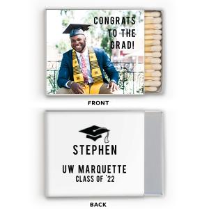 Graduate Photo/Full Color Matchbox