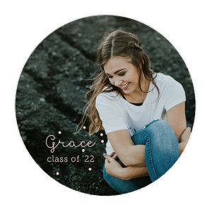 Class of Photo/Full Color Coaster