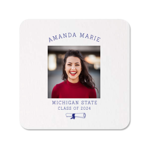 Diploma Photo/Full Color Coaster