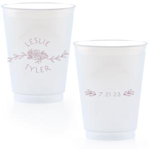 Peony Flourish Frost Flex Cup