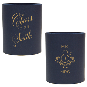 MR & MRS Cheers Can Cooler