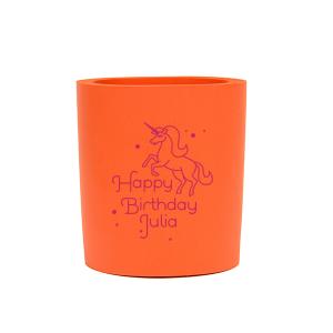 Unicorn Birthday Can Cooler