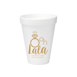 Ooh Lala Foam Cup