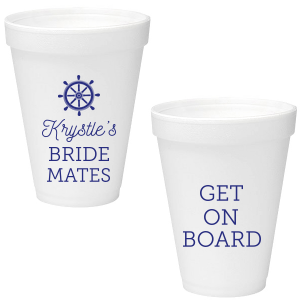 Bride Mates Foam Cup