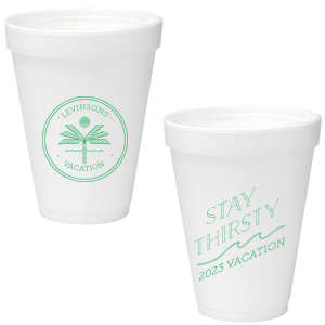 Vacation Foam Cup