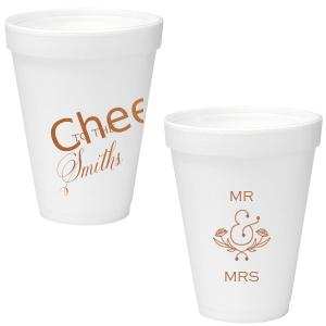 Fancy Cheers Foam Cup