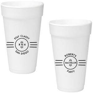 Stay Classy Foam Cup