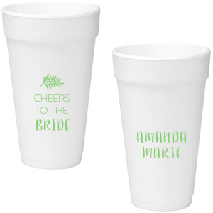 Leaf Cheers Foam Cup