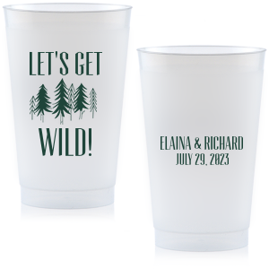 Forest Wedding Cup