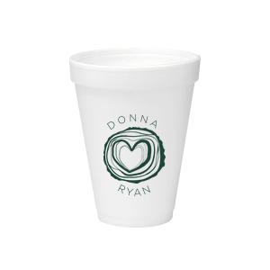Tree Heart Foam Cup