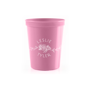 Floral Name Stadium Cup