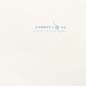 Angled Ampersand Letterpress Envelope