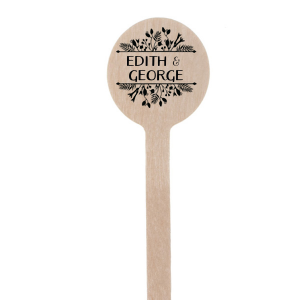 Best Day Ever Floral Stir Stick
